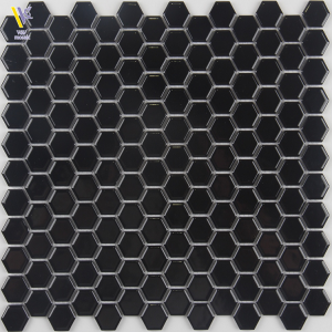 CERAMIC MOSAIC-BLACK