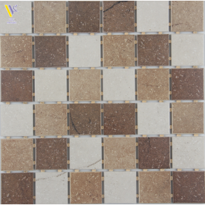 CERAMIC MOSAIC-BROWN