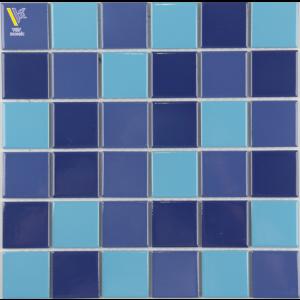 CERAMIC MOSAIC-BLUE