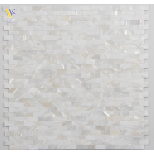 SEASHELL MOSAIC-WHITE