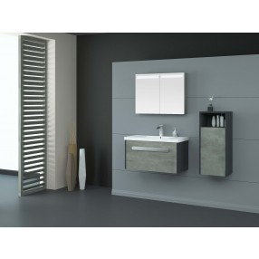 CABINET-CABINET-MATT SANDY BLACK AND CEMENT GREY