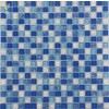 GLASS MOSAIC-BLUE