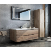 MIRROR CABINET-MIRROR CABINET-LIGHT OAK