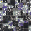STAINLESS STEEL MOSAIC-BLUE